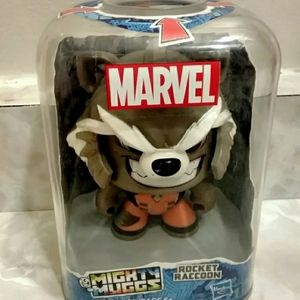 Marvel Mighty Muggs Black Panther & Rocket Racoon